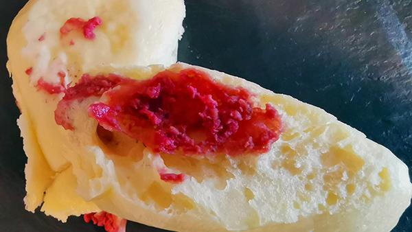 PSF Rezept des Monats Rasperry Cake mit Super Hi Pro Protein