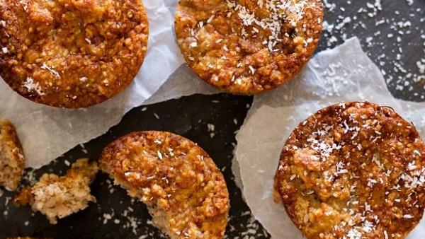 Rezept des Monats Juli 2020 California Cheesecake Muffins mit Super Hi Pro 128